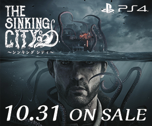 PS4 THE SINKINGC CT ~シンキングシティ~ 10.31 ON SALE