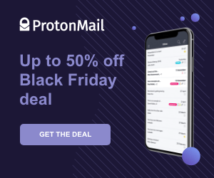 9 ProtonMail Up to 50% off Black Friday deal GET THE DEAL