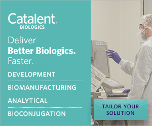 Catalent BIOLOGICS Deliver Better Biologics. Faster. DEVELOPMENT BIOMANUFACTURING ANALYTICAL TAILOR YOUR SOLUTION BIOCONJUGATION