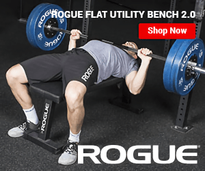 HOGUE FLAT UTILITY BENCH 2.0 Shop Now ROGUE ROGUE