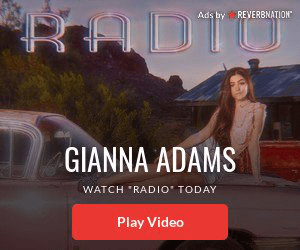 RADI Ads by REVERBNATION GIANNA ADAMS WATCH RADI0 TODAY Play Video