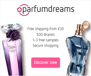 parfumdreams Free shipping from £30 500 Brands 1-3 free samples Secure shopping Taelor aincnt Discover now