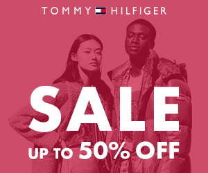 TOMMYE HILFIGER SALE UP TO 50% OFF