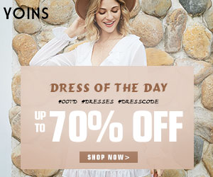 YOINS DRESS OF THE DAY *OOTD PDRESSES PORESSCODE UP TO 70% OFF SHOP NOW>