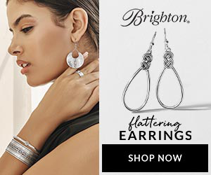 Brighton, flattering EARRINGS SHOP NOW