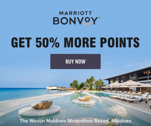 MARRIOTT BONVOY GET 50% MORE POINTS BUY NOW The Westin Maldives Miriandhoo Resort, Maldives