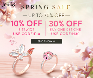 Jeuli SPRING SALE - UP TO 70% OFF- 10% OFF 30% OFF SITEWIDE BUY ONE GET ONE USE CODE:F10 USE CODE:H3o SHOP NOW >