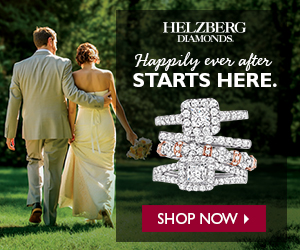 HELZBERG DIAMONDS Happily ever after STARTS HERE. SHOP NOW >