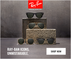 DENUNE BICE IBr RAY-BAN ICONS. UNMISTAKABLE. SHOP NOW