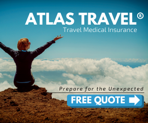 ATLAS TRAVEL® Travel Medical Insurance Prepare for the Unexpected FREE QUOTE >