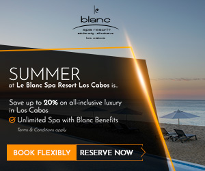 blanc apa resorte SUMMER at Le Blanc Spa Resort Los Cabos is. Save up to 20% on all-inclusive luxury in Los Cabos G Unlimited Spa with Blanc Benefits Torma & Condrons oeel BOOK FLEXIBLY RESERVE NOW