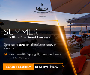 le blanc SUMMER at Le Blanc Spa Resort Cancun is. Sove up to 20% on all-inclusive luxury in Cancun O Blanc Benefits: Spo, golf, tours, and more Torma & Condions ocoly BOOK FLEXIBLY RESERVE NOW