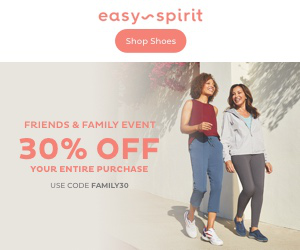 easy spirit Shop Shoes FRIENDS & FAMILY EVENT 30% OFF YOUR ENTIRE PURCHASE USE CODE FAMILY30