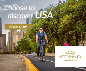 Choose to discover USA BOOK NOW ETIHAD AIRWAYS