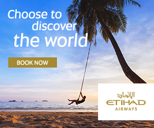 Choose to discover the world BOOK NOW SGŲI ETIHAD AIRWAYS