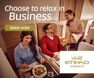 Choose to relax in Business BOOK NOW ETIHAD AIRWAYS