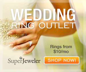 WEDDING RING OUTLET Rings from $10/mo SupeřJeweler SHOP NOW!