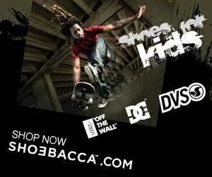 ne kids E DVSO SHOP NOW SHO3BACCA.COM TOF THE WALL
