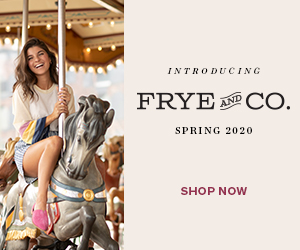 INTRODUCING FRYE CO. CO. AND SPRING 2020o SHOP NOW