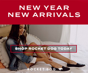 NEW YEAR NEW ARRIVALS SHOP ROCKET DOG TODAY ROCKET DOG