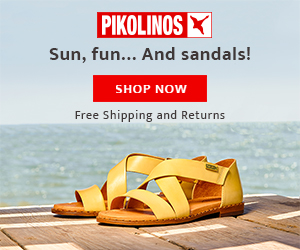 PIKOLINOS X Sun, fun... And sandals! SHOP NOW Free Shipping and Returns