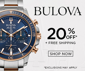 BULOVA BULOVA OFF* + FREE SHIPPING 30 SHOP NOW