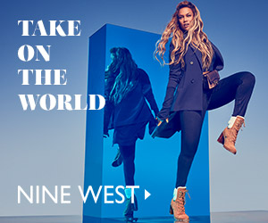 TAKE ON THE WORLD NINE WEST ►