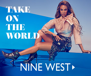 TAKE ON THE WORLD NINE WEST>