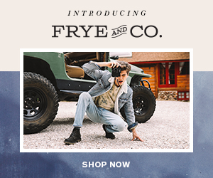 INTRODUCING FRYE CO. AND SHOP NOW