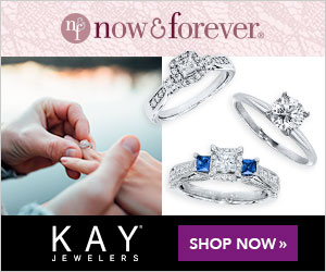 O now&forever. KAY SHOP NOW » JEWELERS