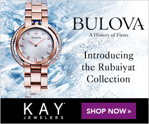 BULOVA A History of Firsts Introducing the Rubaiyat Collection KAY SHOP NOW » JEWELERS