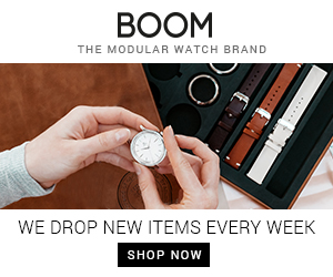 BOOM THE MODULAR WATCH BRAND WE DROP NEW ITEMS EVERY WEEK SHOP NOW