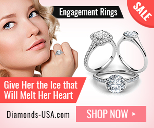 Engagement Rings Give Her the Ice that Will Melt Her Heart Diamonds-USA.com SHOP NOW SALE
