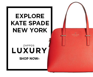 EXPLORE KATE SPADE NEW YORK ZAPPOS LUXURY SHOP NOW»