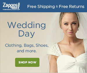 Zappos Free Shipping & Free Returns Wedding Day Clothing, Bags, Shoes, and more. SHOP NOW