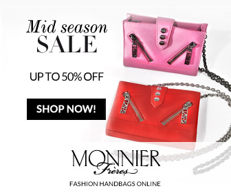 Mid season SALE UP TO 50% OFF SHOP NOW! MONNIER Frères FASHION HANDBAGS ONLINE