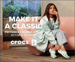 MAKE IT/ A CLASSIO PRIYANKA CHOPRA JONAS ACTOR & ACTIVS crocs )