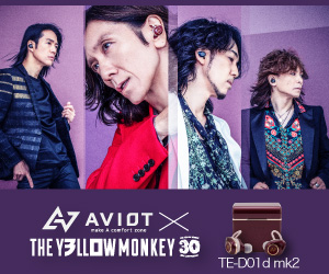 A7 AVIOT× THE YLLOWMONKEY 30 cefort ore TE-DO1d mk2