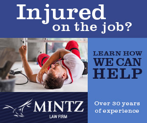 Injured on the job? LEARN How WE CAN HELP MINTZ Over 30 years of experience LAW FIRM