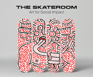 THE SKATEROOM Art for Social Impact