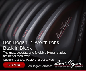 Ben Hogan Ft Worth irons. Back in Black The most accurate and forgiving Hogan blades are better than ever. Custom-crafted. Factory-direct to you.