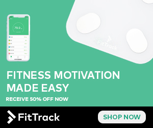 700。 FTrack FITNESS MOTIVATION MADE EASY RECEIVE 50% OFF NOW SHOP NOW >FitTrack