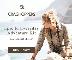CRAGHOPPERS Epic to Everyday Adventure Kit faturing Inseet Shield* SHOP NOW
