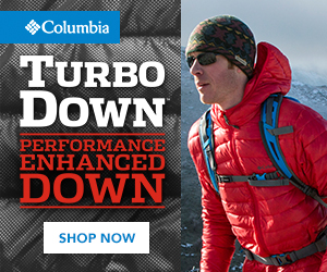 ◆Columbia TURBO DowN PERFORMANCE ENHANCED DOWN SHOP NOW