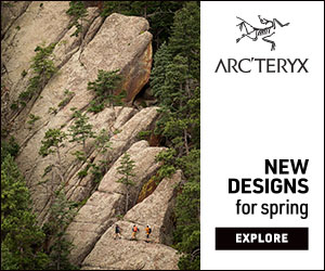 ARCTERYX NEW DESIGNS for spring EXPLORE