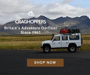 CRAGHOPPERS Britain's Adventure Outfitter Since 1965 SHOP NOW