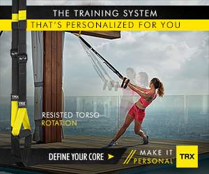 THE TRAINING SYSTEM THAT'S PERSONALIZED FOR YOU RESISTED TORSO ROTATION MAKE IT DEFINE YOUR CORE>fPERSONAL' TRX