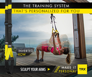 THE TRAINING SYSTEM THAT'S PERSONALIZED FOR YOU INVERTED ROW MAKE IT SCULPT YOUR ARMS TRX PERSONA
