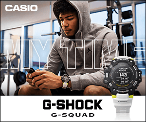 CASIO 143 G-SHOCK G-SQUAD