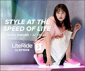 STYLE AT THE SPEED OF LITE SUZU HIROSE · ACTESS LiteRide by Crocs
